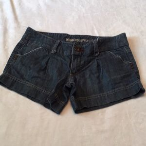 Size 1 Mossimo Supply Co. jean shorts